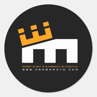 CM Basic 'M' Logo (crisp ver.) Classic Round Sticker