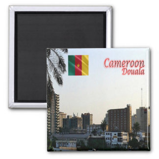 CM - Cameroon - Douala  the economic capital Square Magnet