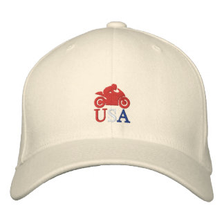 CM Moto USA Embroidered Hat
