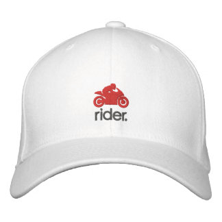 Cm Rider Hat (gry/red)