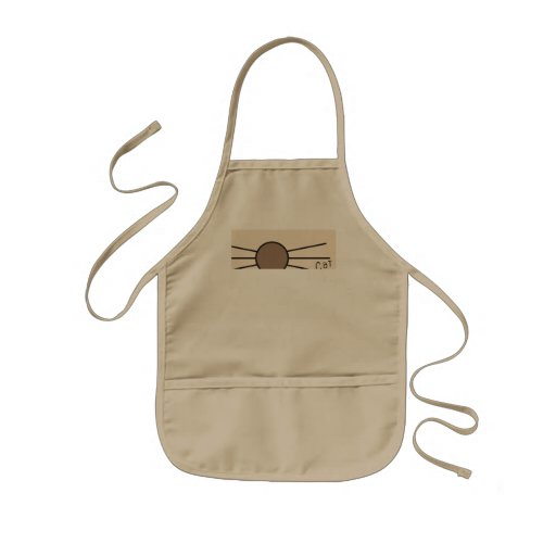 CM Whiskers Logo Aprons