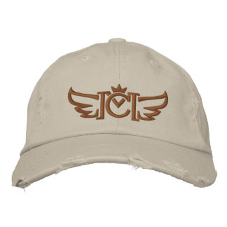 CM Winged (copper) Embroidered Hat
