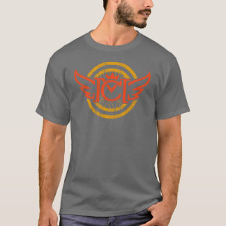 CM Winged Wheel (red & orange) T-Shirt