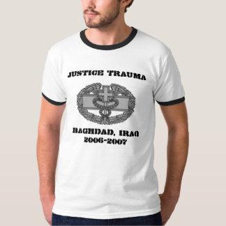 CMB2, JUSTICE TRAUMA, BAGHDAD, IRAQ2006-2007 T-Shirt