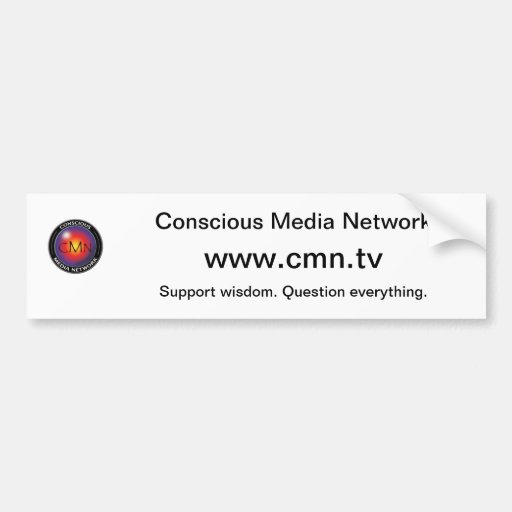 CMN bumper sticker
