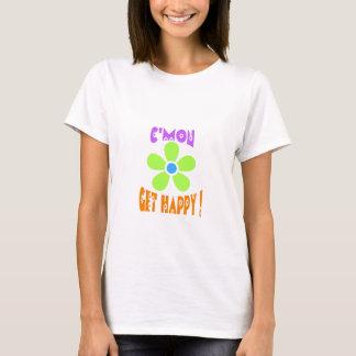 c'mon get happy t-shirt