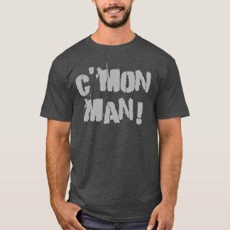 C'mon Man! Gray T-Shirt