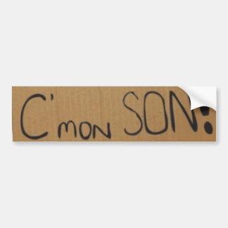 C'mon SON! sticker