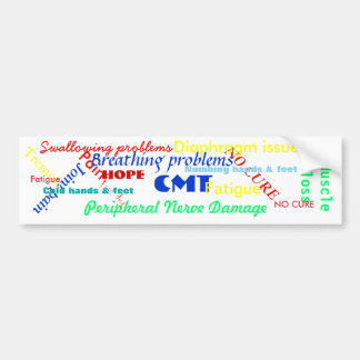 CMT AWARENESS BUMPER STICKER