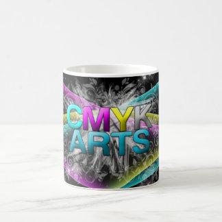 CMYK Abstract Design Coffee Mug