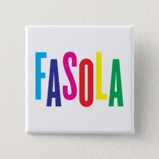 CMYK Fasola Logo Square Badge 2 Inch Square Button