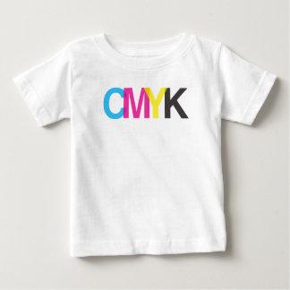 CMYK Graphic Illustrator Design Baby T-Shirt