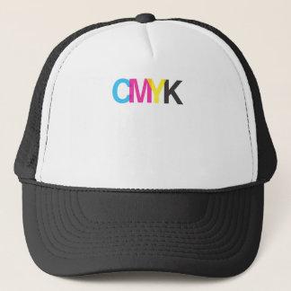CMYK Graphic Illustrator Design Trucker Hat