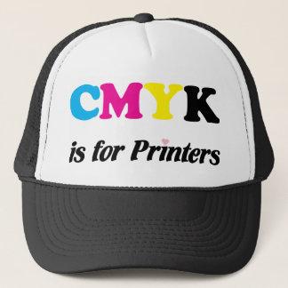 CMYK is for Printers 3 Trucker Hat