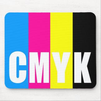 CMYK - mousepad Tapis De Souris