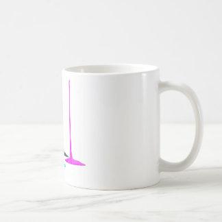 CMYK paint pour on white Coffee Mug
