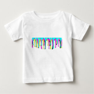 CMYK paint splash Baby T-Shirt