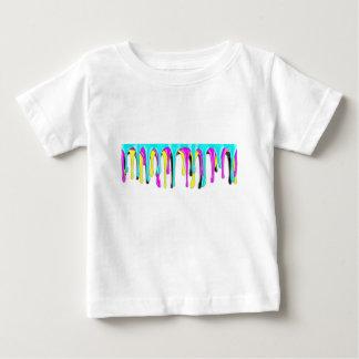 CMYK paint splash Baby T-Shirt