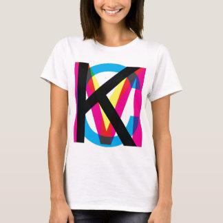 CMYK pile T-Shirt