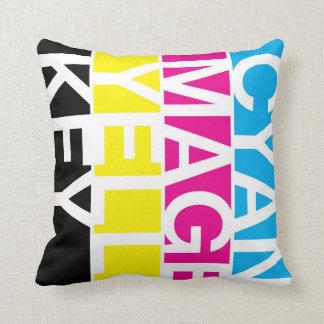 CMYK Pillow