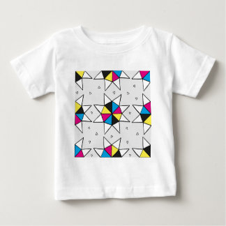 CMYK Star Wheel Baby T-Shirt