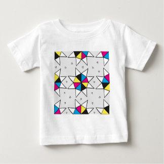 CMYK Star Wheel Baby T-Shirt