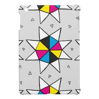 CMYK Star Wheel Cover For The iPad Mini