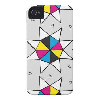CMYK Star Wheel iPhone 4 Cover