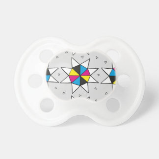 CMYK Star Wheel Pacifier