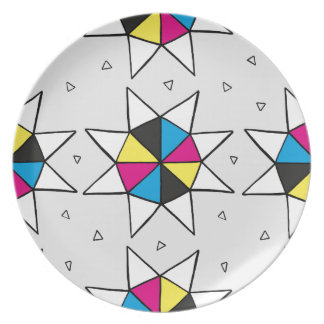 CMYK Star Wheel Plate