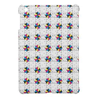 CMYK Star Wheels iPad Mini Covers
