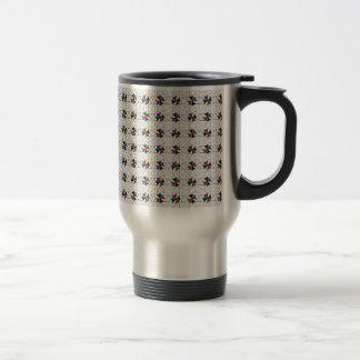 CMYK Star Wheels Travel Mug