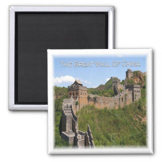 CN * China - The Great Wall Square Magnet