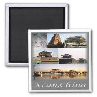 CN * CHINA - Xian China & Terracotta Army Magnet