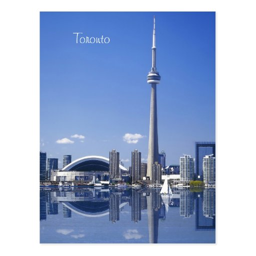 CN Tower and buildings in Toronto, Ontario, Canada Post Card