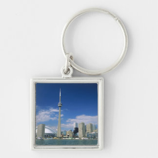 CN Tower and Skydome in Toronto, Ontario, Keychain