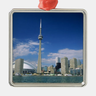 CN Tower and Skydome in Toronto, Ontario, Christmas Ornaments