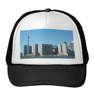 CN Tower Toronto view from Centre Island DownTown Trucker Hat