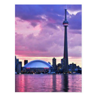 CN Tower : View from Center Island Toronto Post Cards
