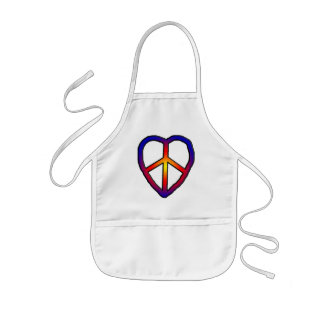 CND Heart copy Kids Apron