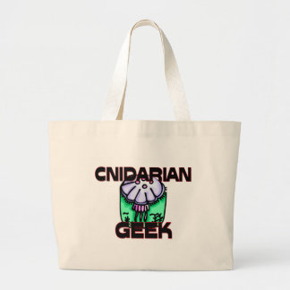 Cnidarian Geek Large Tote Bag
