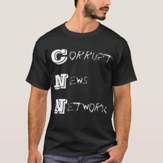 CNN- corrupt news network T-Shirt