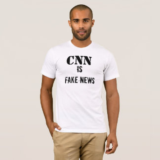 CNN is FAKE NEWS T-shirt