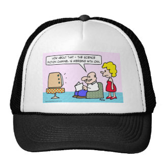 CNN merges with Science Fiction Channel. Trucker Hat