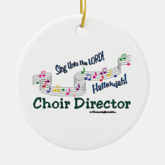 Cnotes Church Choir Director Ceramic Ornament