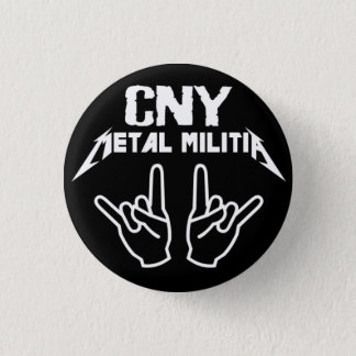 CNY Metal Militia Button