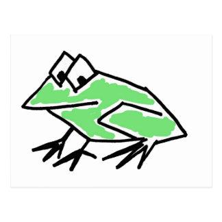 CO- Funky Frog Postcard