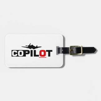 Co-Pilot Luggage Tag