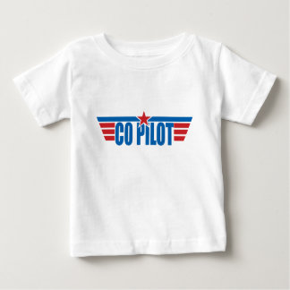 Co-Pilot Wings Badge - Aviation Baby T-Shirt