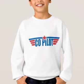 Co-Pilot Wings Badge - Aviation Sweatshirt